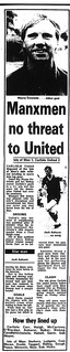 Carlisle United V Isle of Man 28-7-1985 Match Report | by cumbriangroundhopper