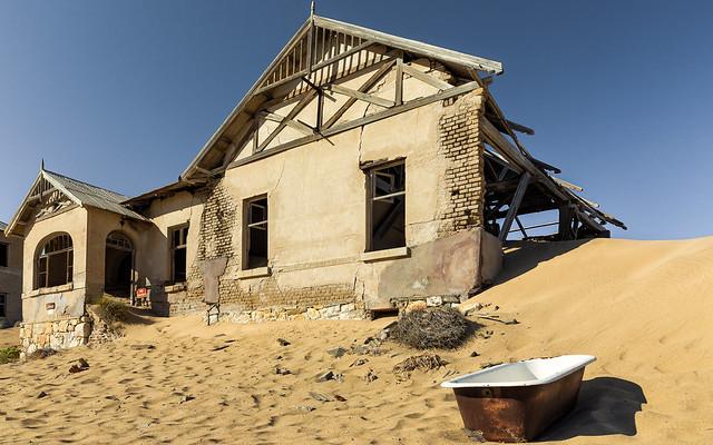 Ghost Town-Kolmanskop Namibia