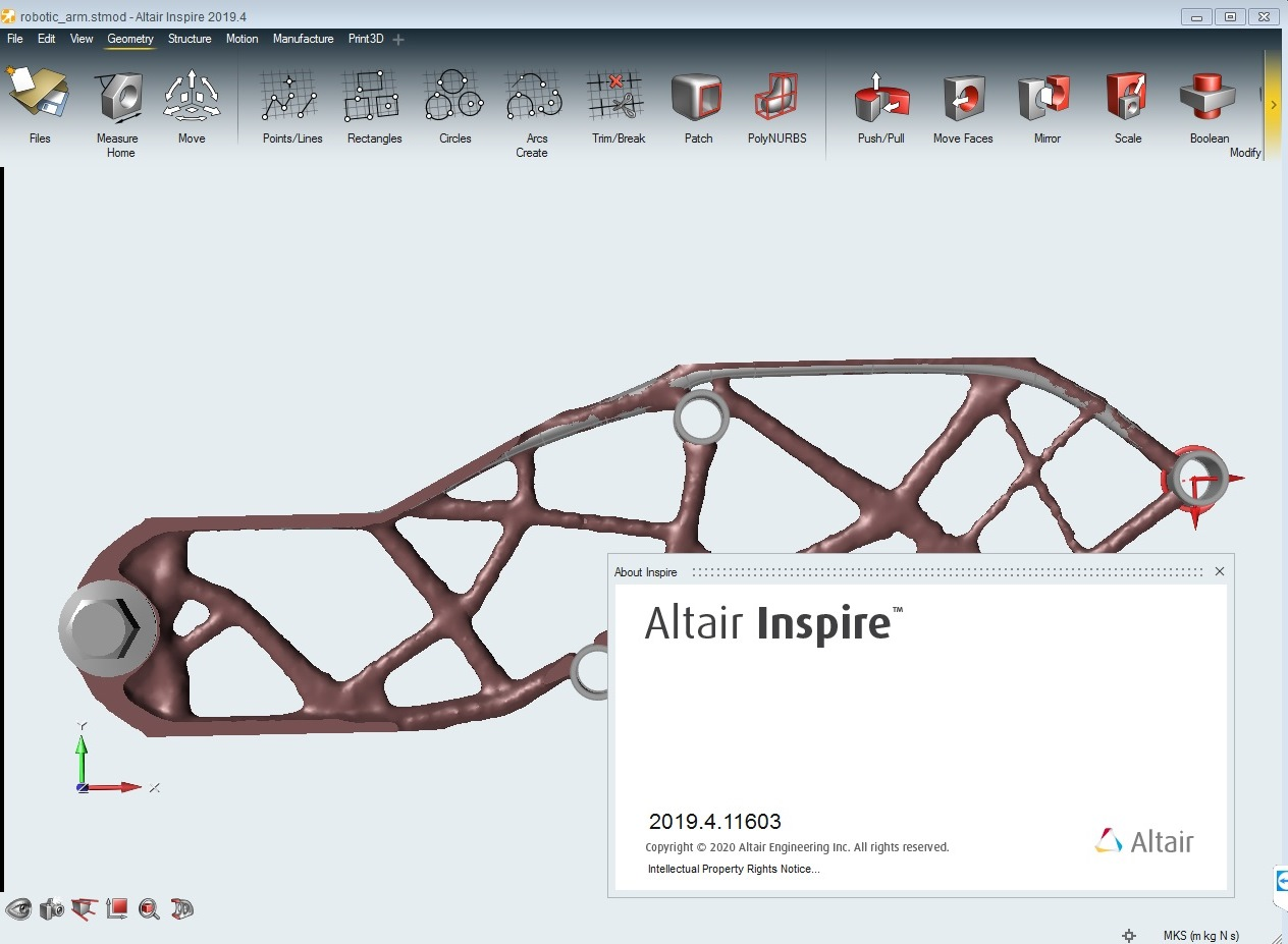 Working with Altair Inspire 2019.4 full license