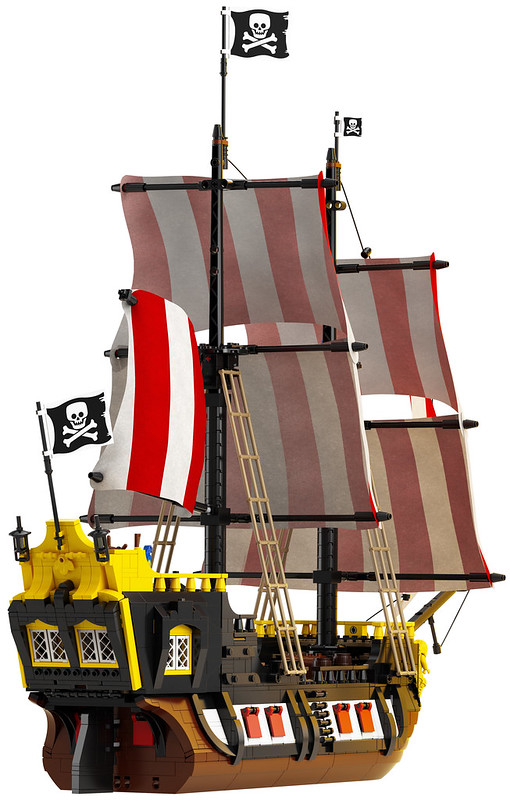 21322: LEGO Ideas Pirates of Barracuda Bay