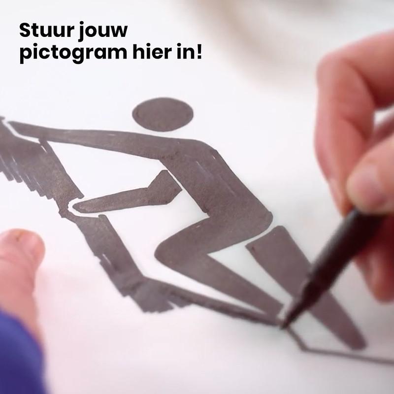 Pictogram insturen