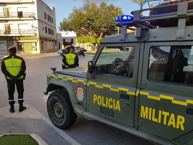 Tareas de vigilancia e informativas de las fuerzas de seguridad en Los Palacios y Vfca