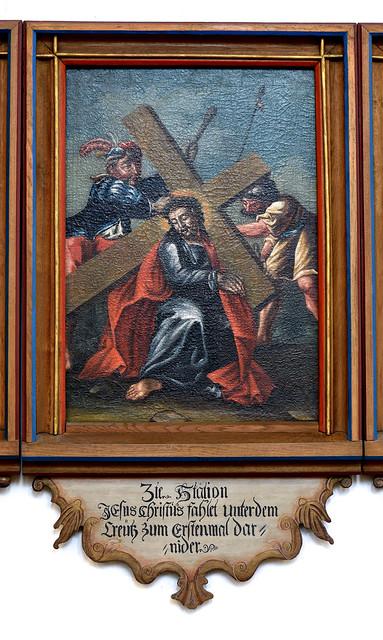 Münster, Westfalen, Lambertikirche, stations of the cross, iii