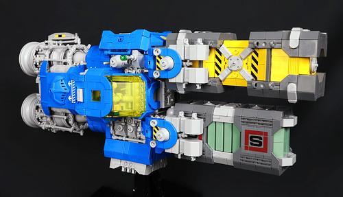 Blue Lobster Cargo Shuttle