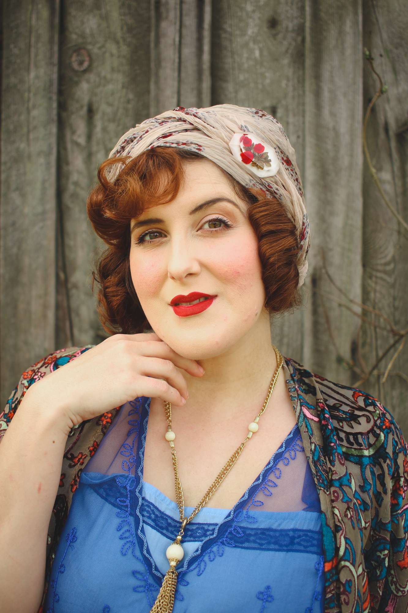 authentic 1920's hair and makeup