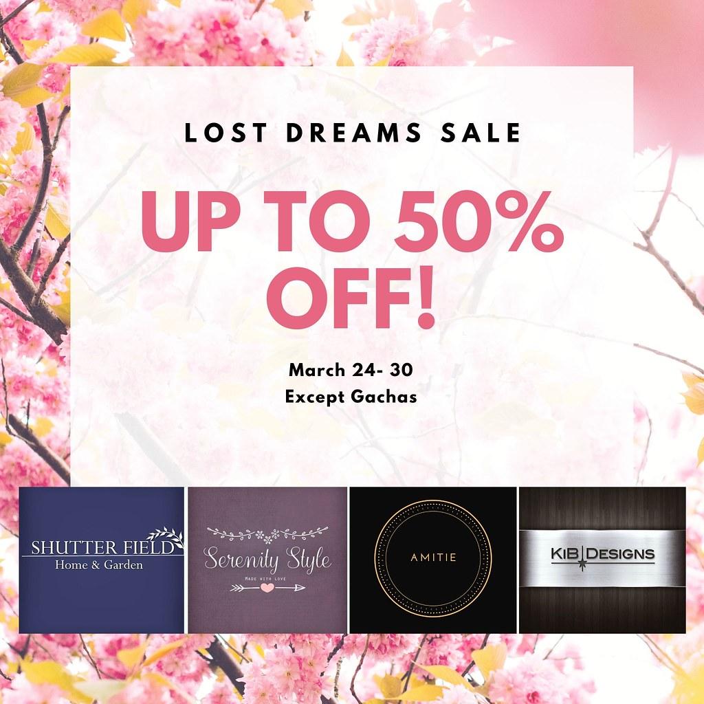 Lost Dreams Spring Sale