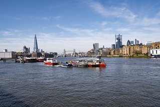 Thames Panorama from Rotherhithe | by London Less Travelled