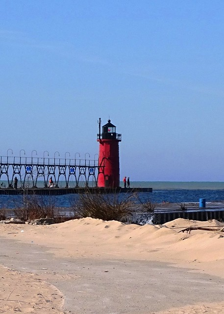 Michigan-South Haven South Pier Lighthouse