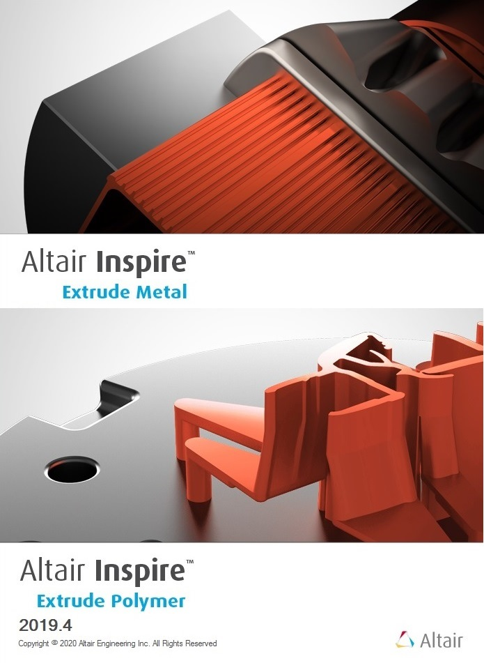 Altair Inspire Extrude Metal and Extrude Polymer 2019.4 full license