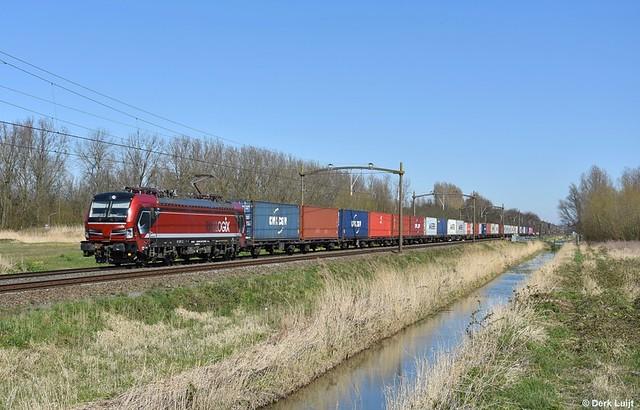 Rail Force One 193 627, Dordrecht Zuid, 23-3-2020