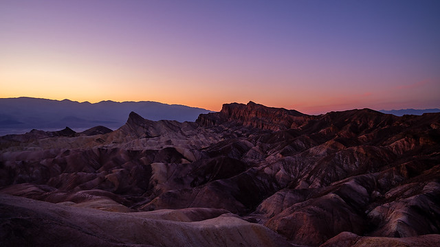 Zabriskie Sunset
