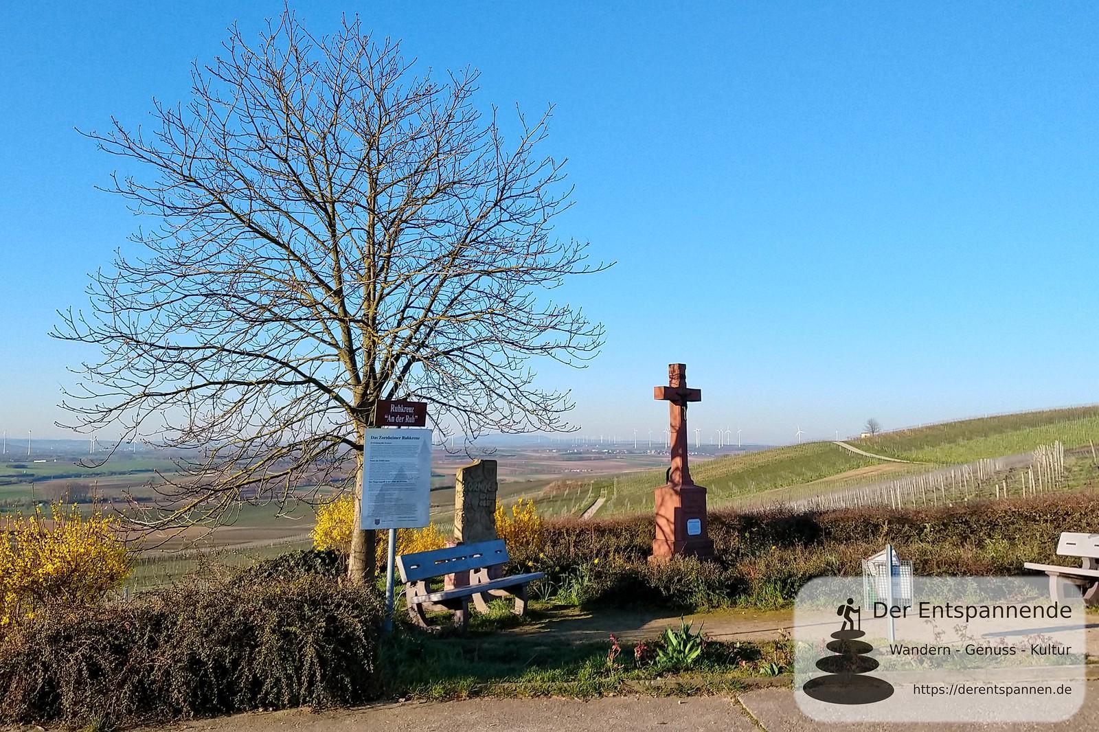 Zornheimer Ruhkreuz: Schönste Weinsicht 2020 Rheinhessen des Deutschen Weininstituts