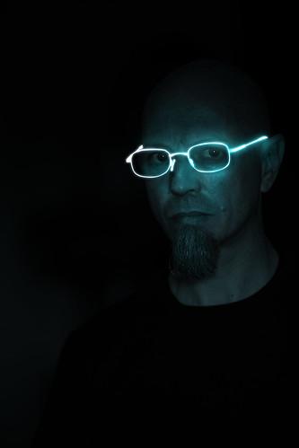 occhiali luminosi