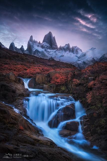 Patagonia Series 41/52 - Autumn Scene under Fitz Roy