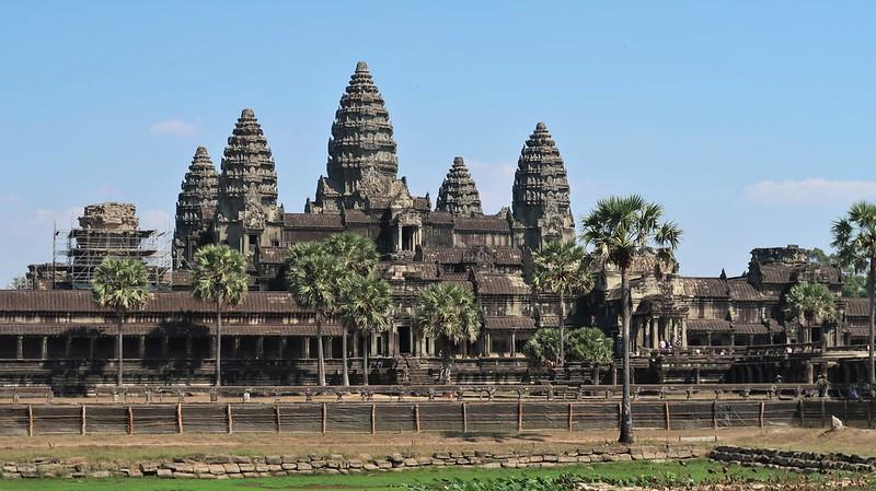 Angkor Wat, CAMBODIA, February 2020