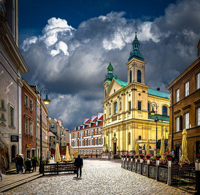Church of the Holy Spirit in New Town, Warsaw, Poland. 818-Edita