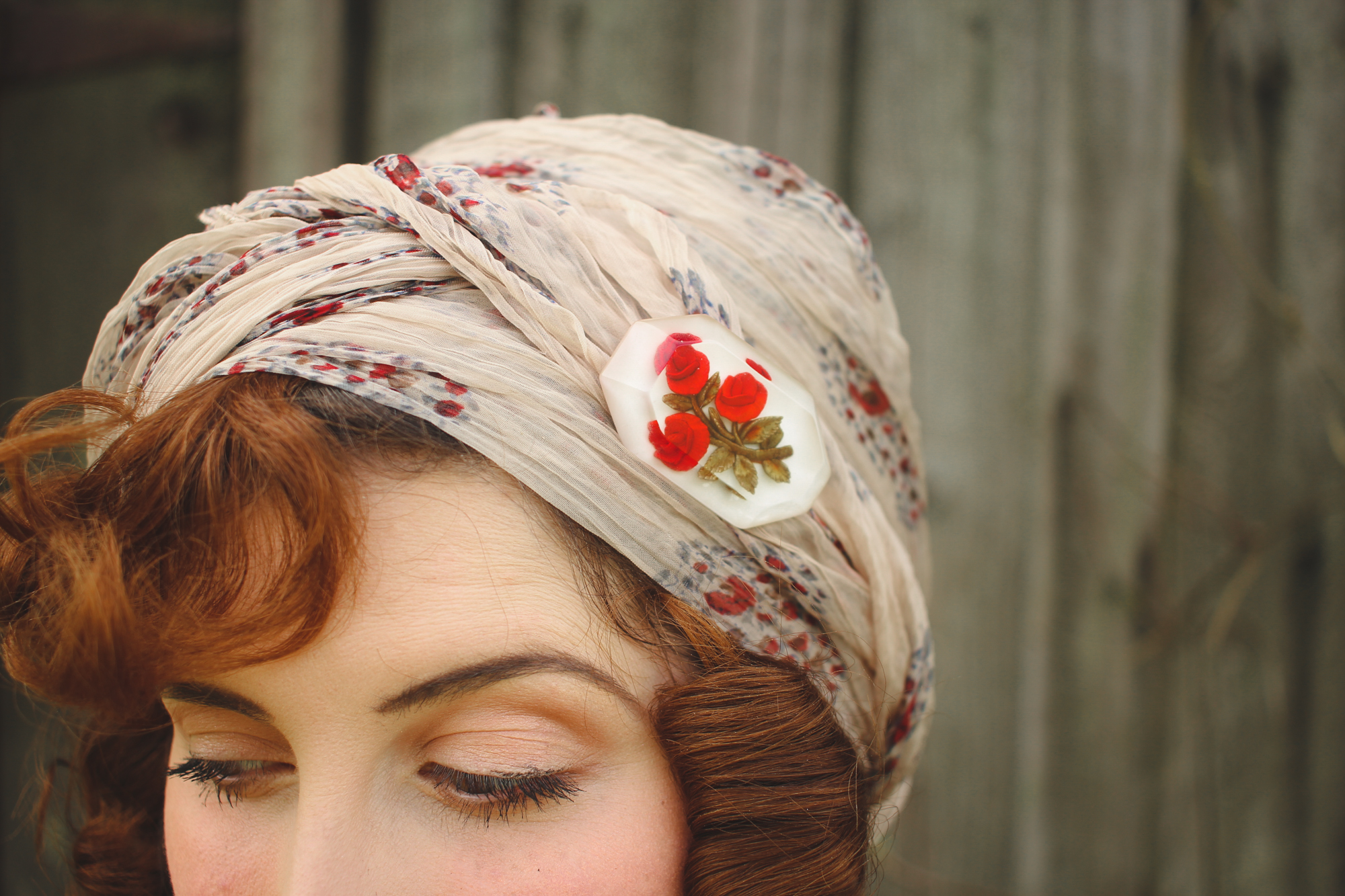 How to tie a 1920's turban