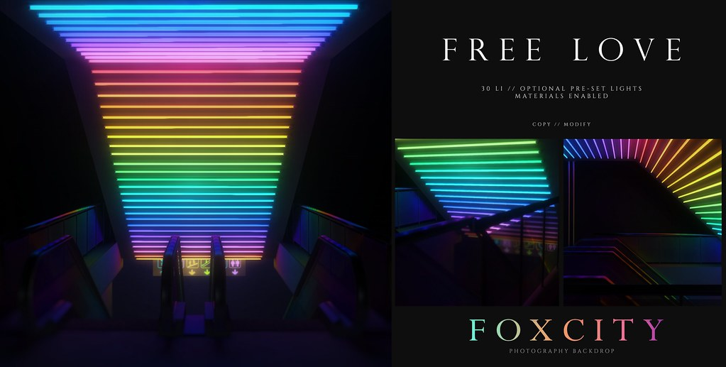 FOXCITY. Photo Booth – Free Love