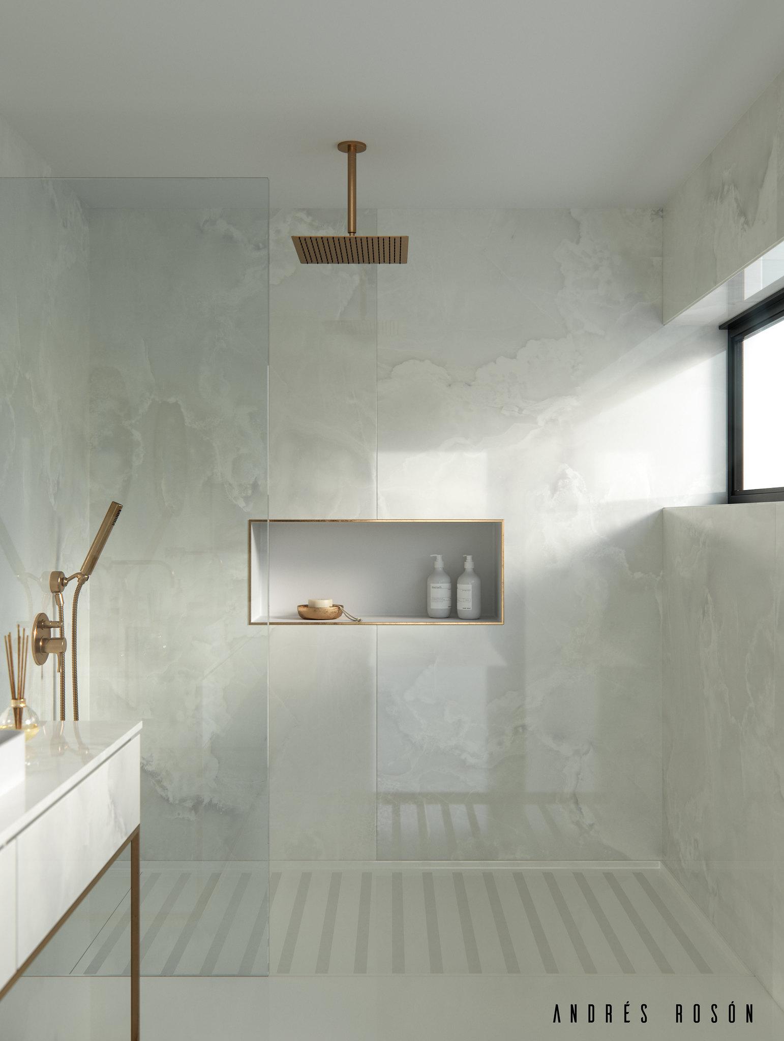 Helena Bathroom by Cosentino