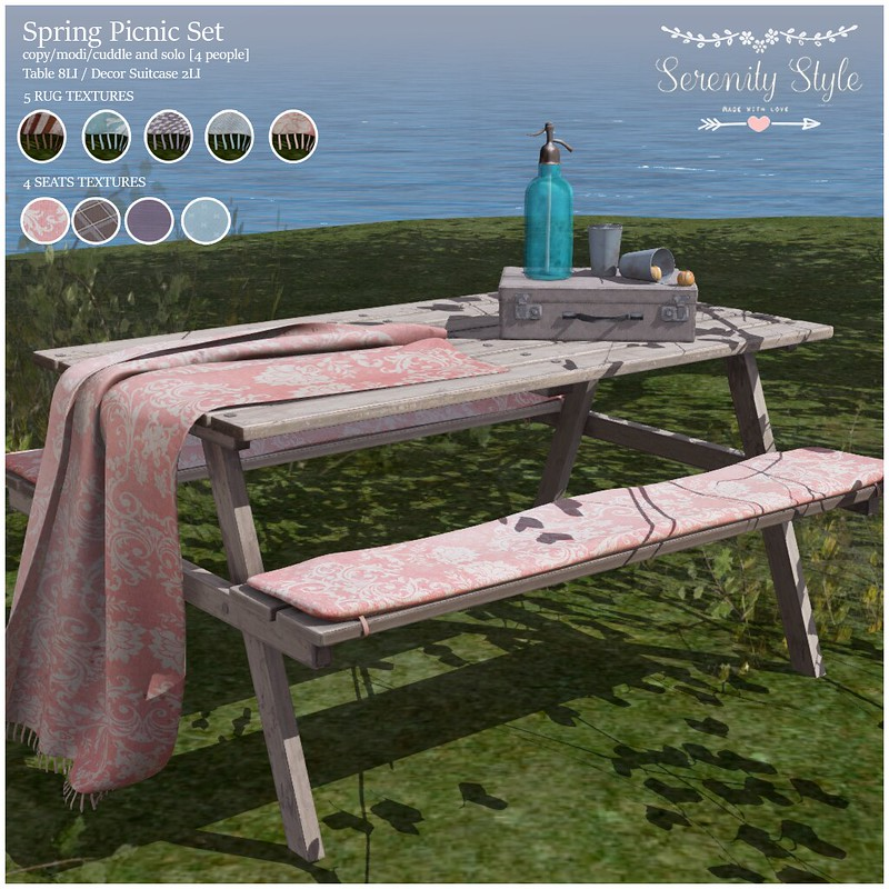 Serenity Style-Spring Picnic Set