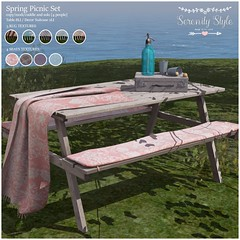 Serenity Style-Spring Picnic Set