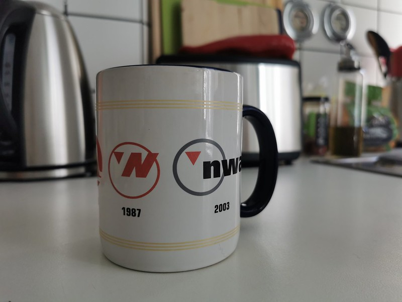 Northwest Airlines Mug