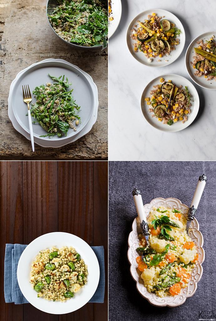 Insalata primaverile di quinoa