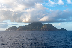 Passing the island of Saba, Netherlands Antilles