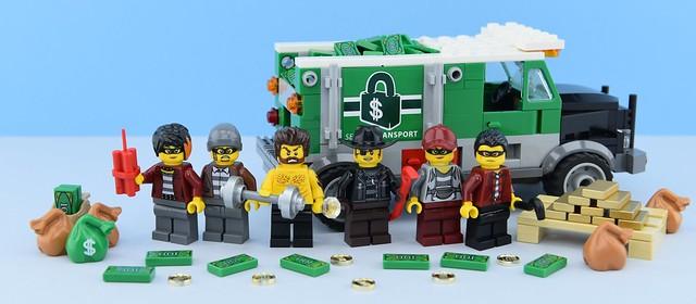 Random minifigs #15 LEGO City Thieves💰