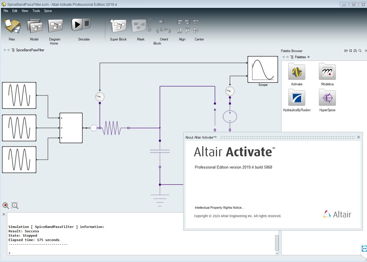 Working with Altair Activate 2019.4 full license