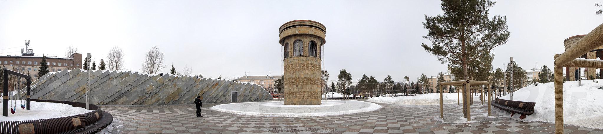 10. Парк Ангелов - панорама © NickFW.ru - 27.02.2020г.