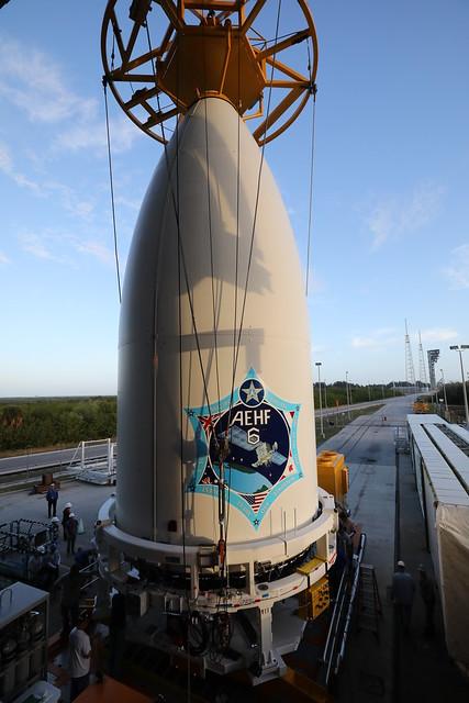 Spacecraft Mate: Atlas V AEHF-6