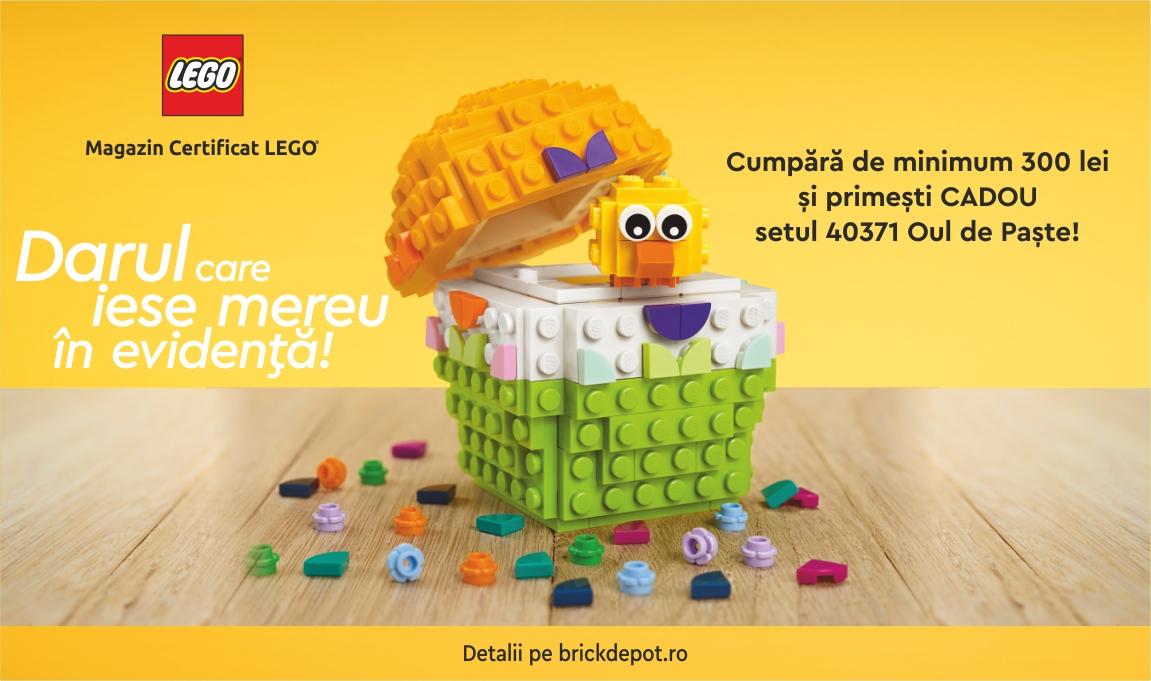 Cadou pentru clientii VIP: LEGO® 40371 – Oul de Paste