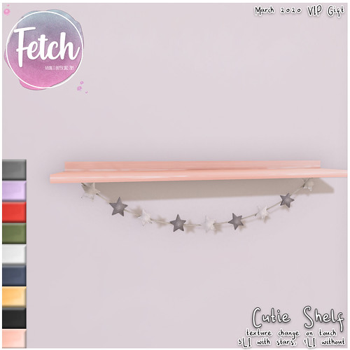 [Fetch] Cutie Shelf - VIP Gift March 2020