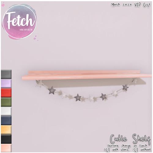 [Fetch] Cutie Shelf - VIP Gift March 2020
