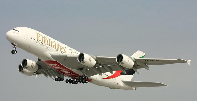 Emirates, A6-EON, MSN 188, Airbus A 380-861, 24.07.2015, XFW-EDHI, Hamburg Finkenwerder