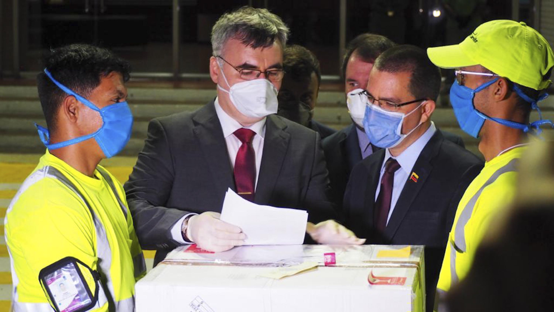 Rusia envía insumos médicos a Venezuela para detectar Covid-19