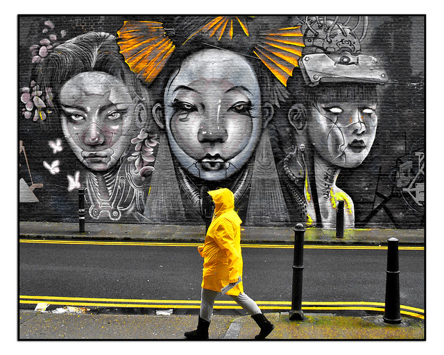 LONDON STREET ART by JIM VISION.