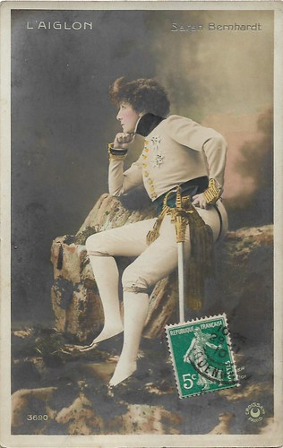 Sarah Bernhardt in L'Aiglon