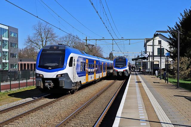 NS 2501, 2525 Oisterwijk 22 maart 2020