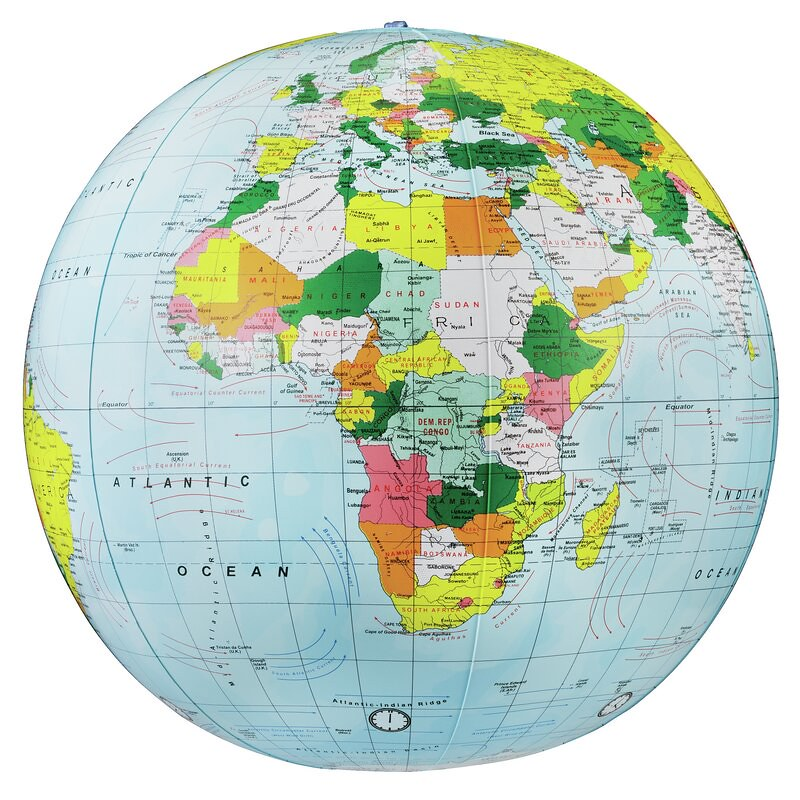 Political-inflate+Globe