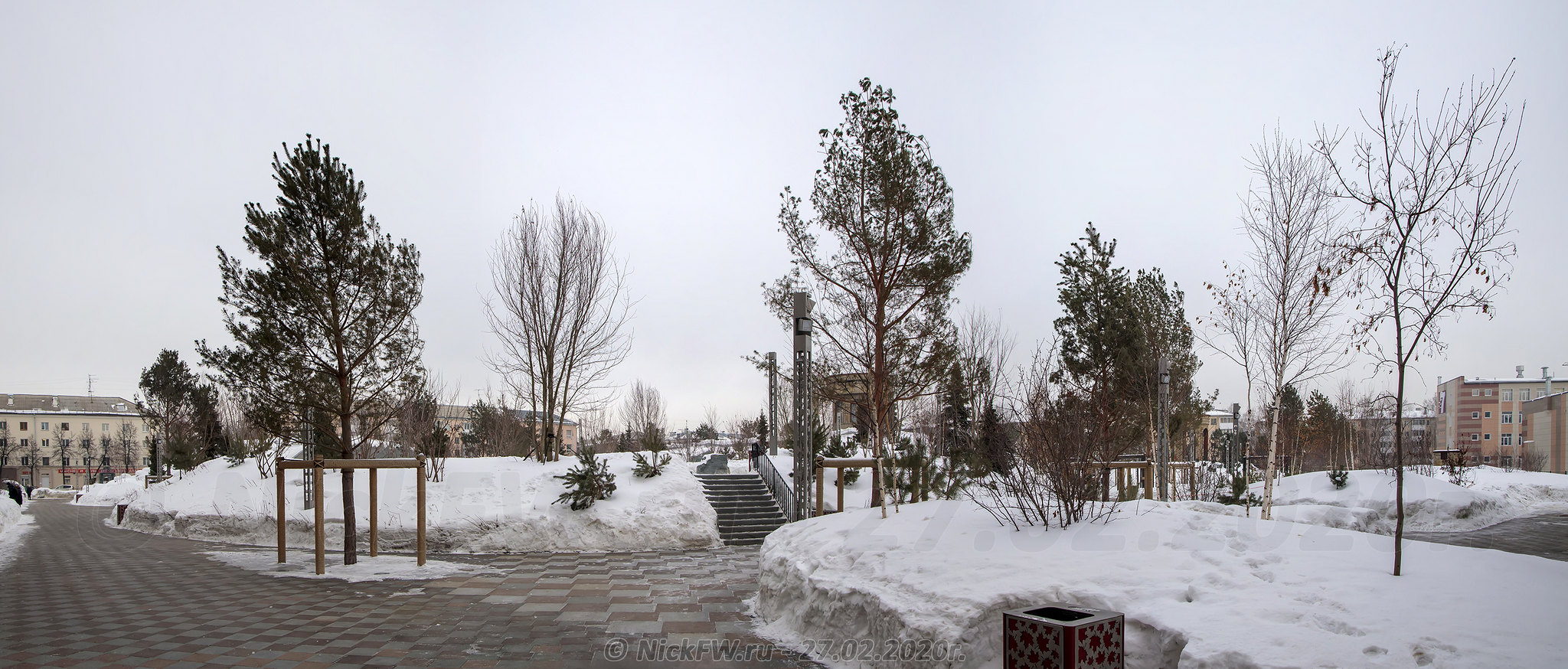 3. Парк Ангелов - панорама © NickFW.ru - 27.02.2020г.