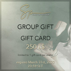 Gift Card group gift