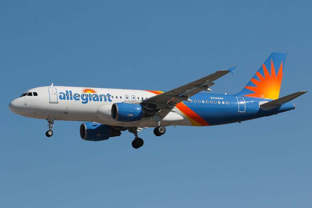 Allegiant Air Airbus A320-214 N242NV 200227 LAS