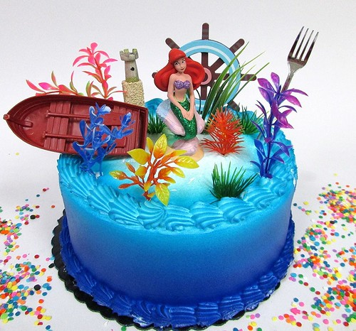 Tortas de la Sirenita: Pasteles de The Little Mermaid