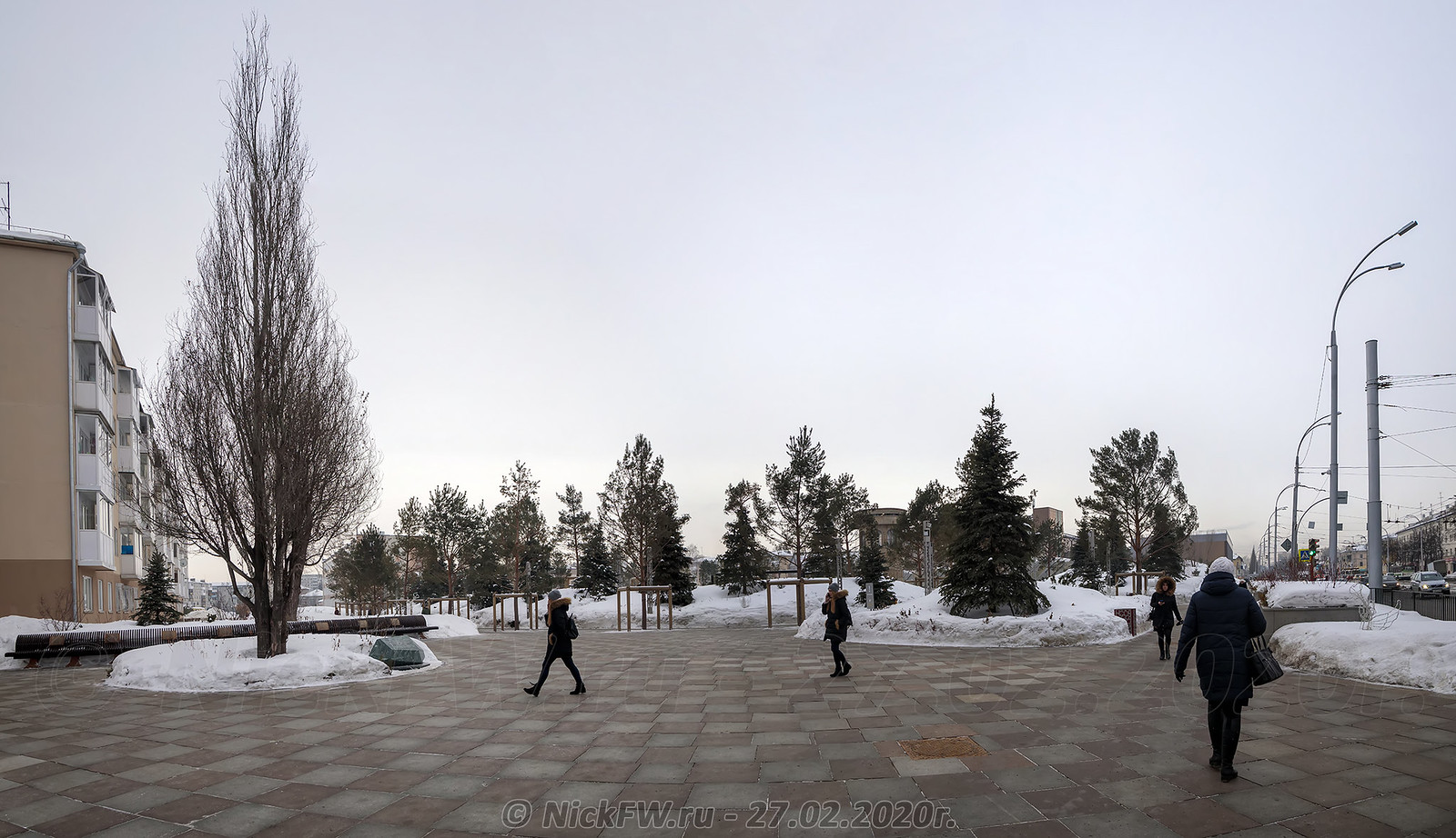 17. Парк Ангелов - панорама © NickFW.ru - 27.02.2020г.