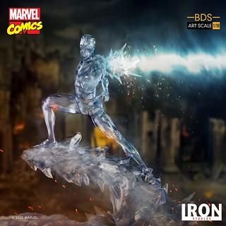 點綴家中冰庫的最佳聖品?! Iron Studios Battle Diorama 系列 Marvel Comics【冰人】Iceman BDS Art Scale 1/10 比例全身雕像