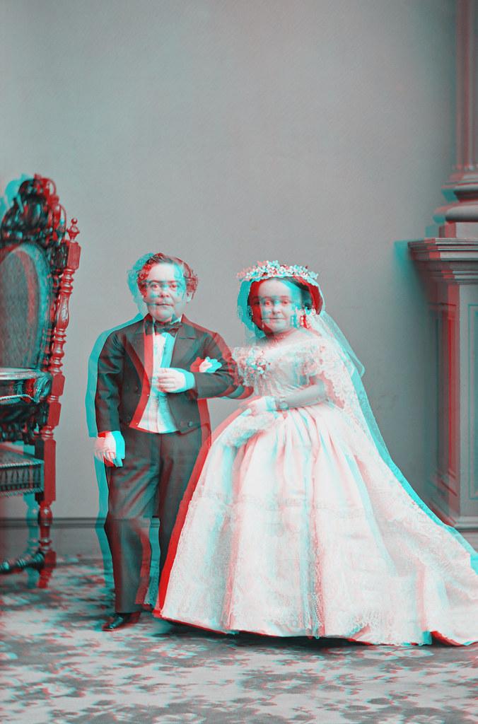 Tom Thumb Wedding - Charles and Lavinia Stratton - Feb 10, 1863