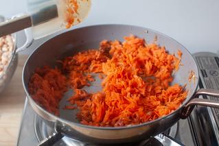 agregar zanahorias