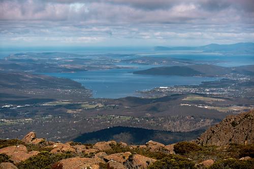 australia tasmania hobart mtwellington mountain landscape